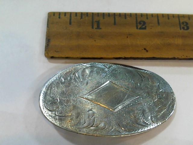 Silver Belt Buckle 925 Silver 25.8g