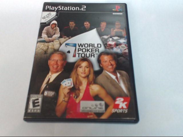 PLAYSTATION 2 GAME: WORLD POKER TOUR