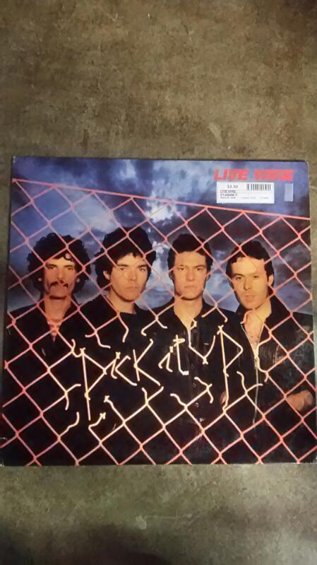 Live Wire Pick It Up Vinyl