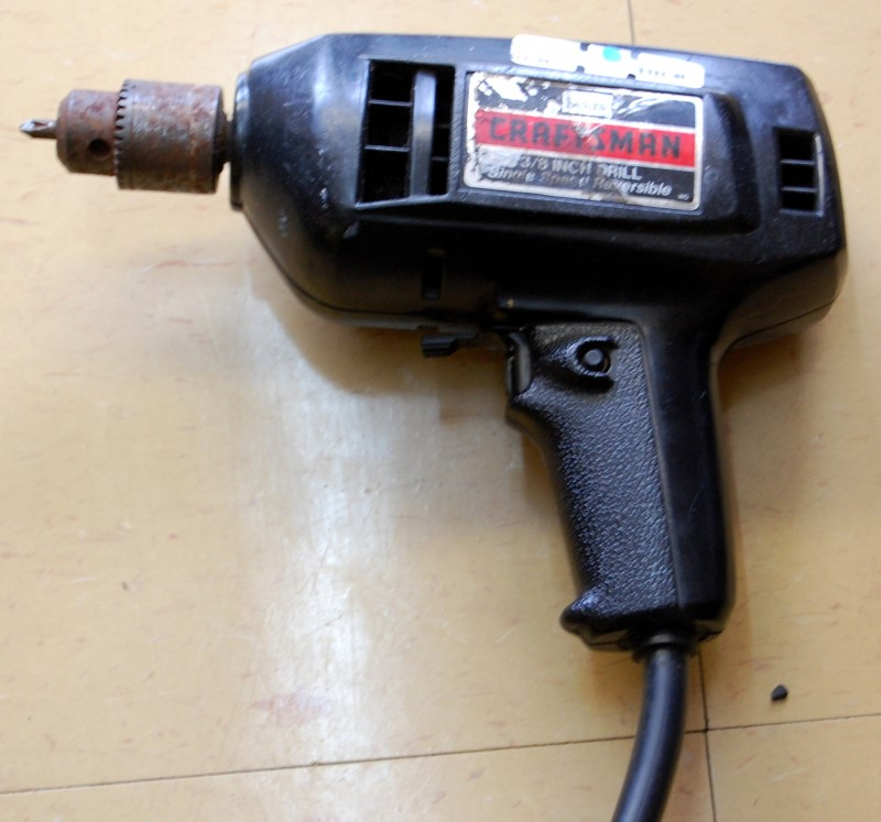 """CRAFTSMAN 3/8"""" Drill Reversible Corded"""