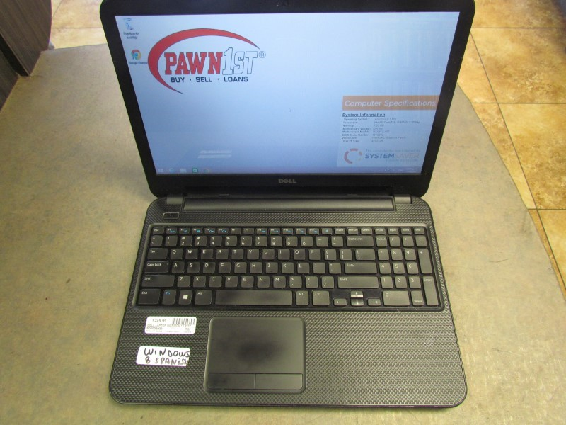 DELL PC Laptop/Netbook INSPIRON 15 3537