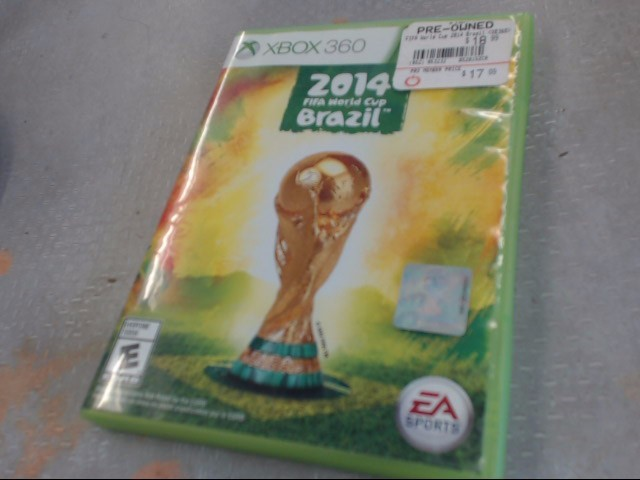2014 FIFA WORLD CUP XBOX 360 GAME