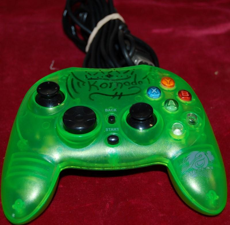MICROSOFT CONTROLLER -XBOX Green