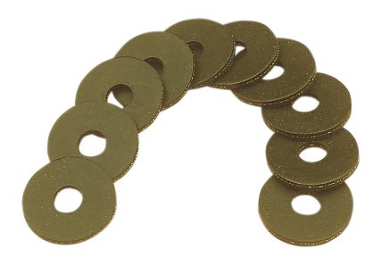 DRAG SPECIALTIES K81-015; RUBBER WASHER-10PK