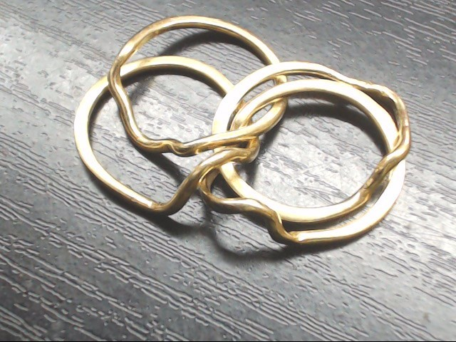Lady's Gold Ring 10K Yellow Gold 5.9g Size:6.5