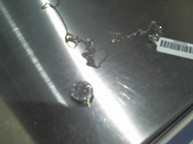 Diamond Necklace 1.20 CT. 14K White Gold 3.42g