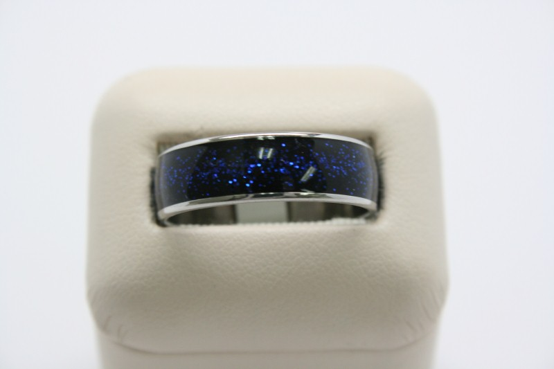 LADY'S STAINLESS STEEL RING 6