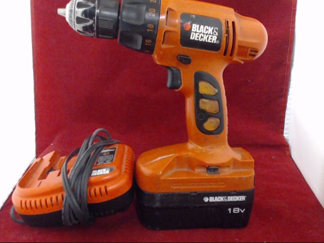 BLACK & DECKER Cordless Drill CD180GS
