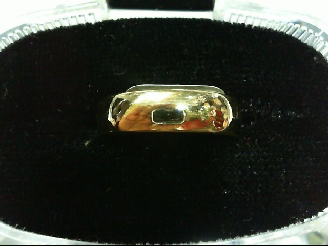 Lady's Gold Wedding Band 14K Yellow Gold 3.7g Size:7