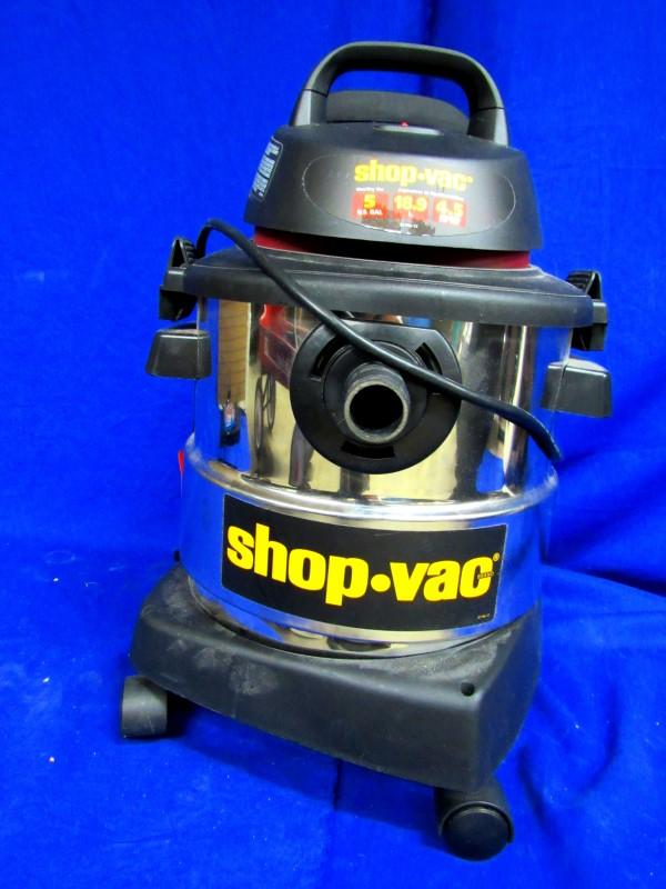 SHOP-VAC 5-GAL WET/DRY VACUUM