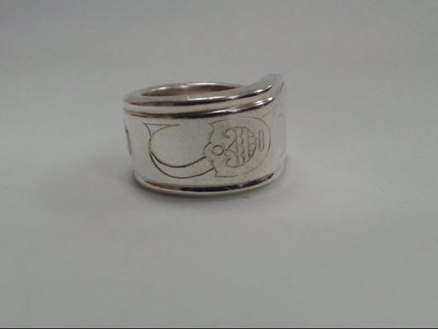 Lady's Silver Ring 925 Silver 16.12g Size:6
