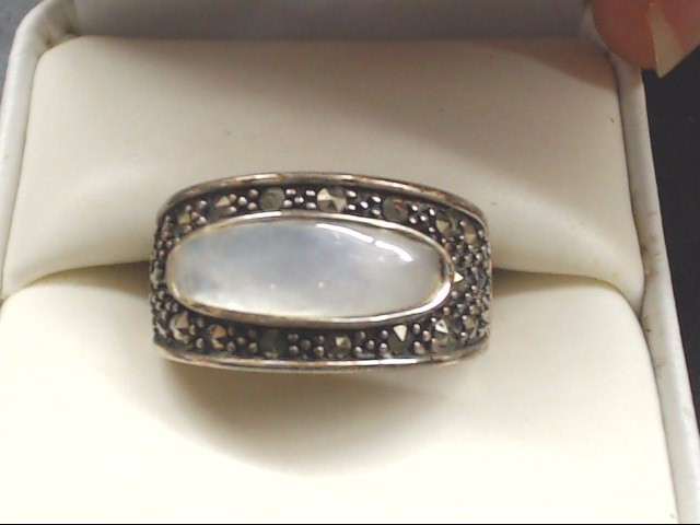 Lady's Silver Ring 925 Silver 7.5g Size:7
