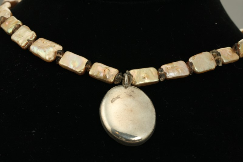 "24"" Necklace/Pendant Antique Tungsten 1g"