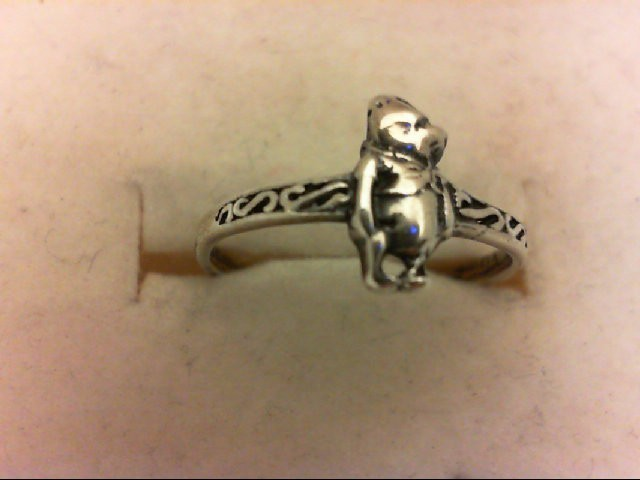 Lady's Silver Ring 925 Silver 0.8g