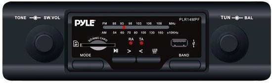 PYLE PLR14MPF; RECIEVER AM/FM MP3 IN DASH CAR STEREO