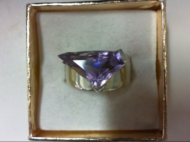 Lady's Silver Ring 925 Silver 8.2g Size:8