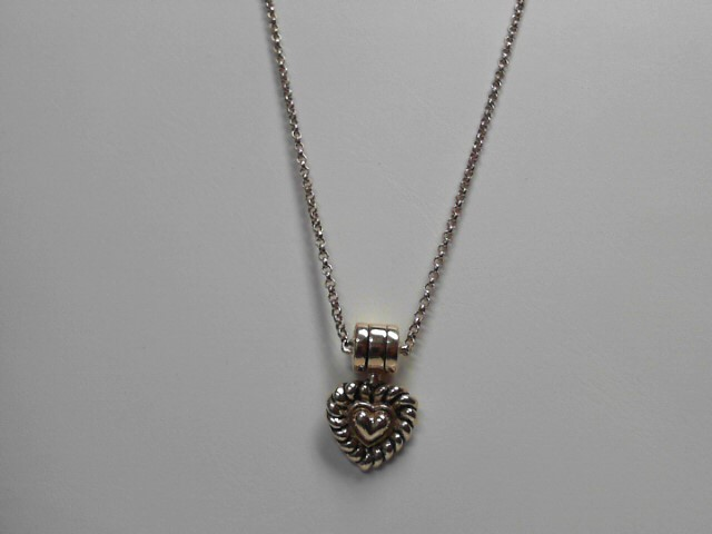 14kt Gold Heart Pendant with Chain 11.23g