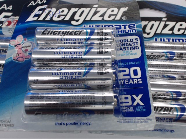 ENERGIZER ULTIMATE LITHIUM AA x 4