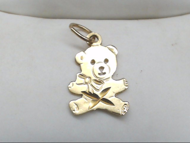 Gold Pendant 14K Yellow Gold 0.3g