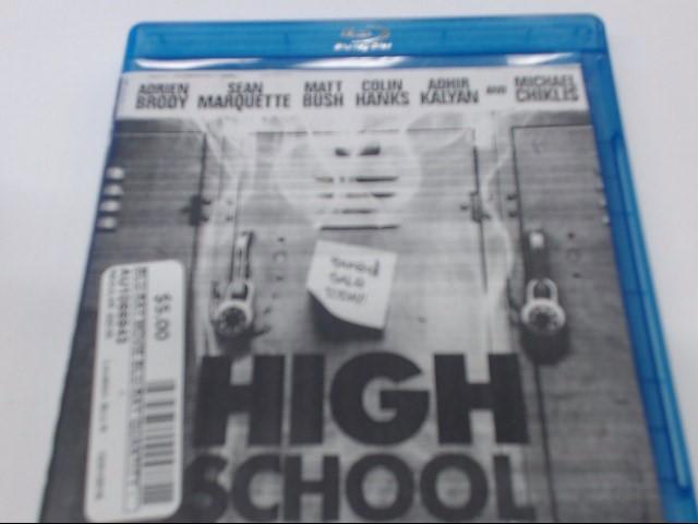 HIGH SCHOOL - BLU-RAY MOVIE