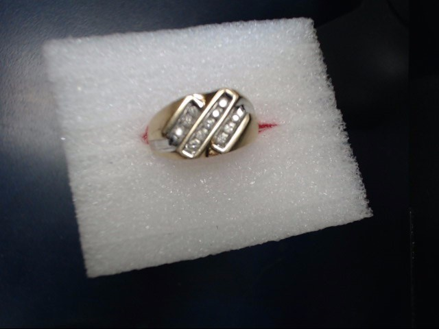 Lady's Gold Ring 10K Yellow Gold 2.52dwt