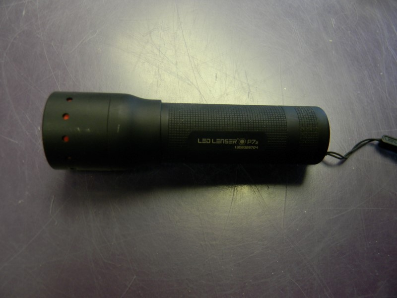 LED LENSER Flashlight 9407 P7.2 PRO