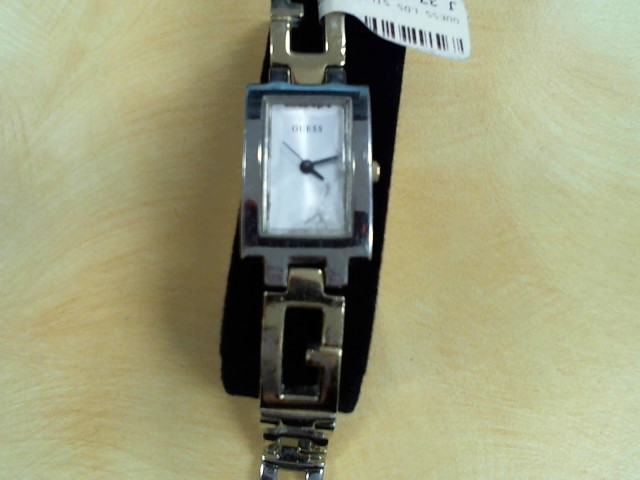 GUESS LDS SILVER TONE WATCH S\G6577DL