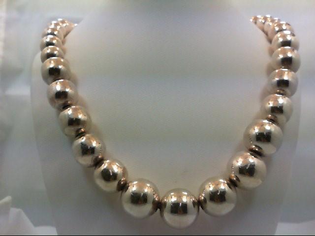 "18"" Silver Chain 900 Silver 77.8g"