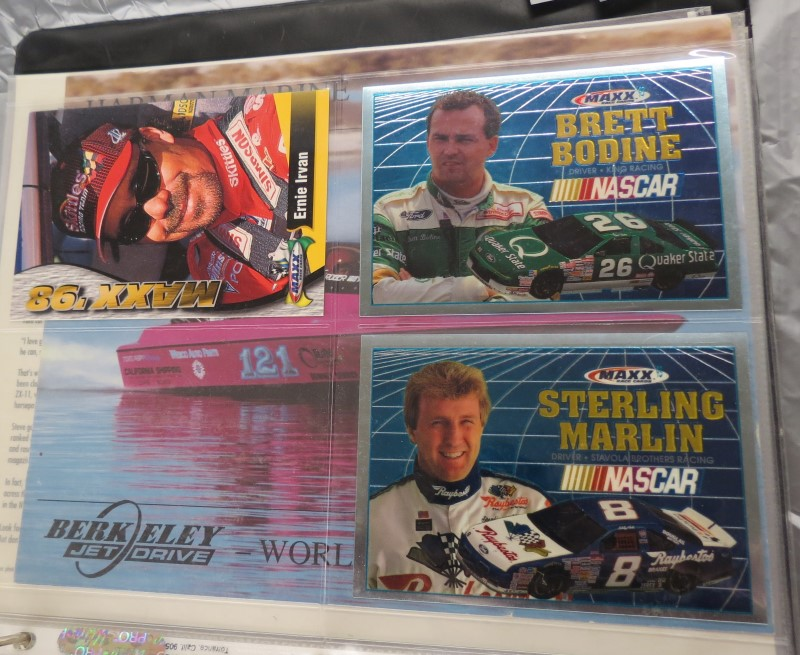 COLLECTOR CARDS RACING
