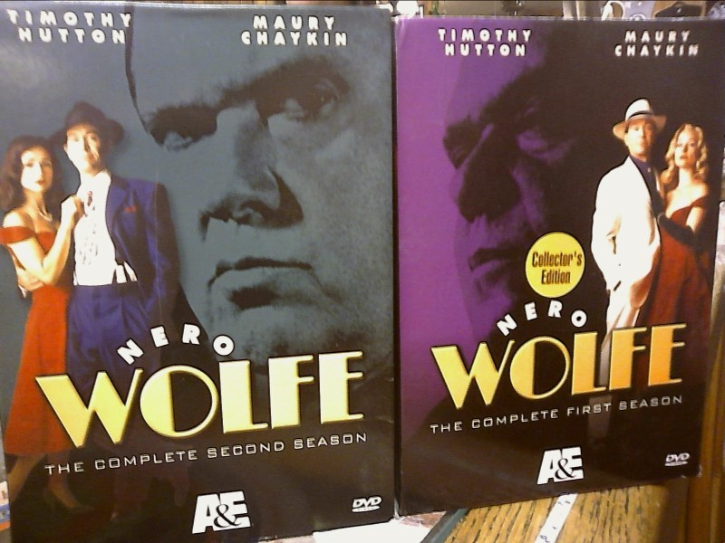A&E DVD NERO WOLFE SEASON 1 & 2 - Season 2 is Missing Volume 3