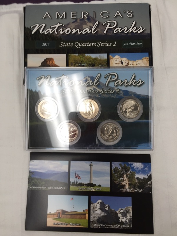UNITED STATES Coin 2013 STATE QUARTERS NATIONAL PARK SERIES 2