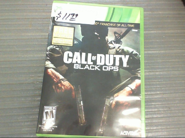 call of duty Microsoft XBOX 360 Game