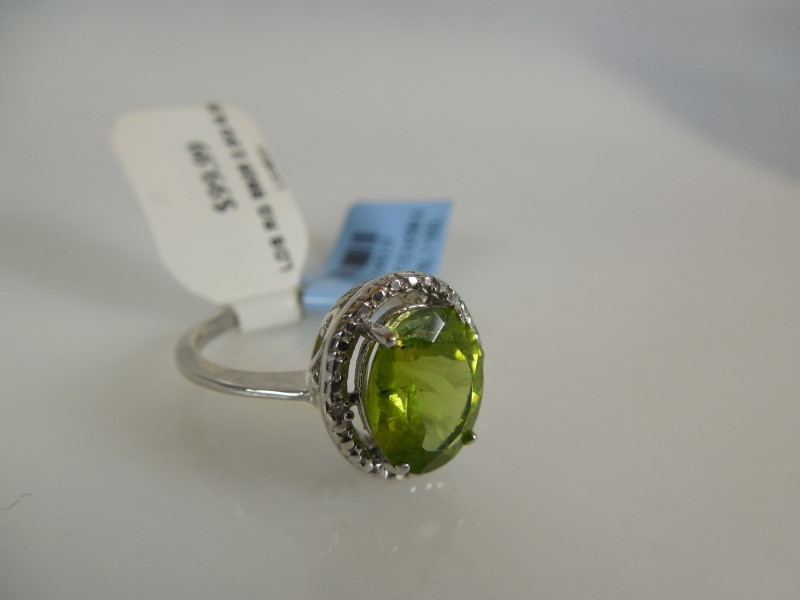 Lady's Silver Ring 925 Silver 2.5g Size:6.5