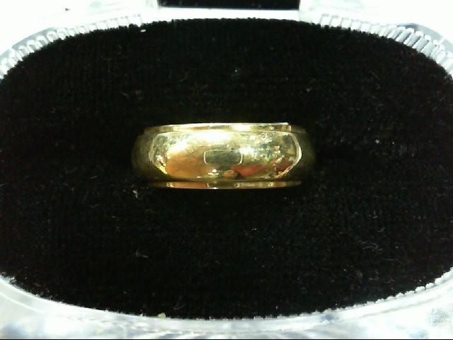Lady's Gold Wedding Band 14K Yellow Gold 5.4g