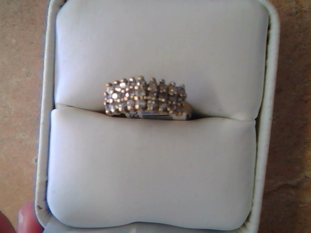CLUSTER RING JEWELRY , 10KT, 2.4