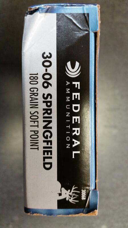 FEDERAL AMMUNITION Ammunition 3006B