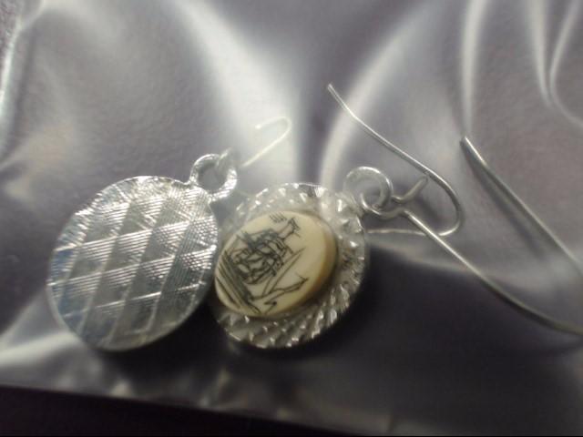 Earrings Silver Stainless 2.9g