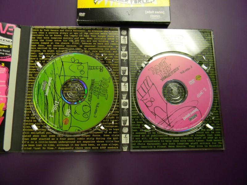DVD BOX SET Aqua Teen Hunger Force Volume Three 3