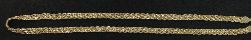 Gold Chain 14K Yellow Gold 8.7dwt