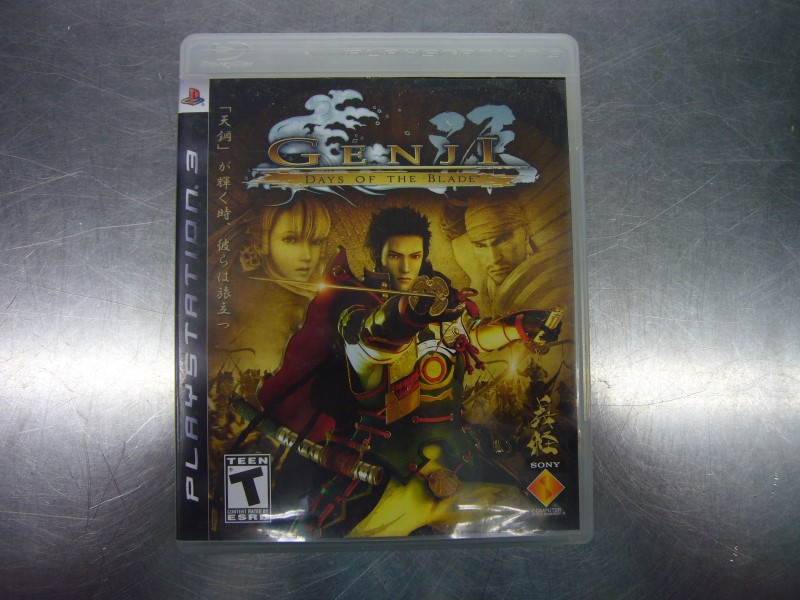 SONY Sony PlayStation 3 Game GENJI DAYS OF THE BLADE
