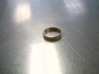 Lady's Gold Wedding Band 10K Yellow Gold 1.9g Size:5.8