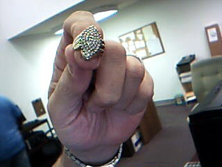 Lady's Diamond Fashion Ring 48 Diamonds .96 Carat T.W. 10K Yellow Gold 6.5g