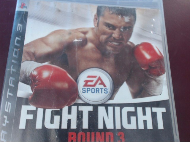 SONY PS3 FIGHT NIGHT ROUND 3