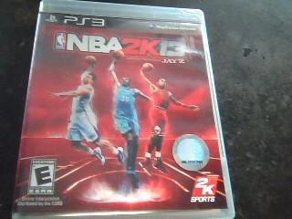 SONY Sony PlayStation 3 PS3 NBA2K13