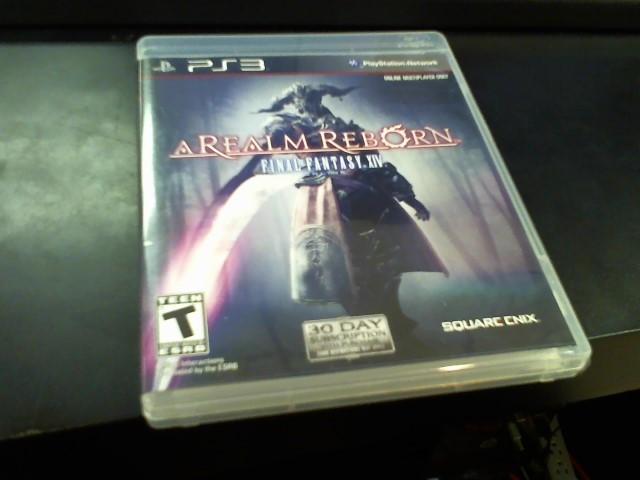 SONY Sony PlayStation 3 PS3 A REALM REBORN