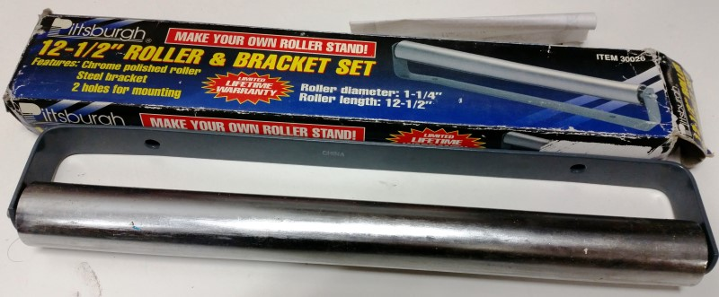 "PITTSBURGH 12-1/2"" ROLLER & BRACKET 30026"