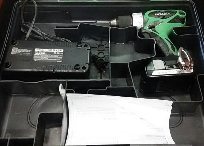HITACHI Cordless Drill DS18DSAL
