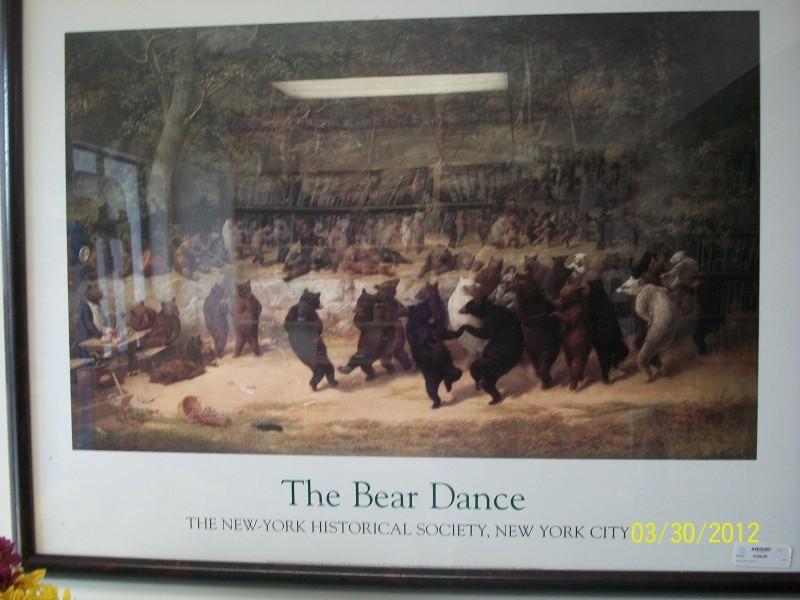 BEAR DANCE PAINTING