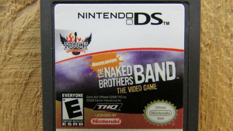 NINTENDO Nintendo DS Game THE NAKED BROTHERS BAND THE VIDEO GAME
