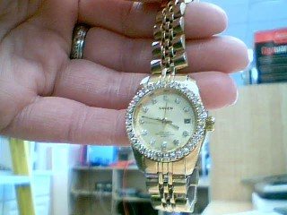 GRUEN Lady's Wristwatch 237-2015 GOLD TONE